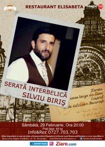 Serata interbelica – Silviu Biris&Band