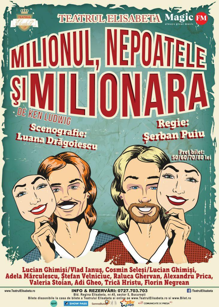 Milionul, nepoatele și milionara